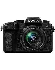 """Panasonic Lumix G90M - Cámara Evil de 20.3 MP (Pantalla de 3.2"""", Visor OLED, Estabilizador Dual 5 Ejes, 4K, VLogL, Wi-Fi, Live Composite) - Kit con Objetivo Lumix Vario 12-60mm/F3.5-F5.6"""