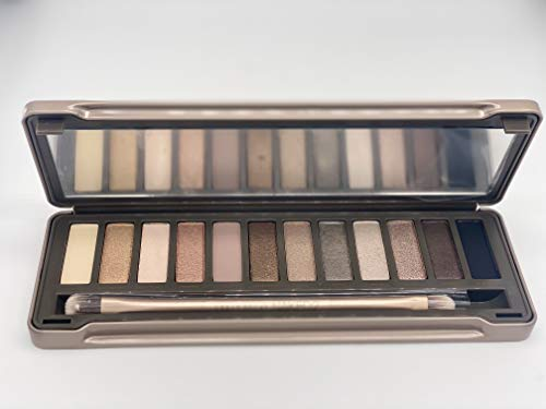 NEW 100% NAKED 2 PALETTE EYE SHADOW BRUSH NEW ORIGINAL PROFESSIONAL MAKEUP