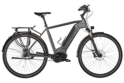 Ortler Continental Revolution 2019 - Bicicleta eléctrica de trekking (60 cm), color negro