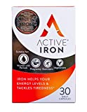 Active Iron | Non-Constipating Iron Tablets | Iron Helps Support Immunity | Clinically