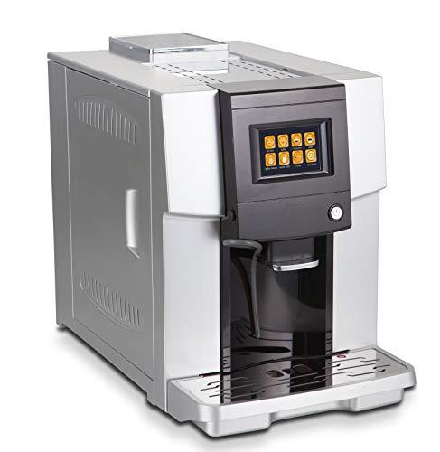 Acopino One Touch Cappuccino Coffee Maschine Vincensa Kaffeevollautomat mit Milchsystem(Farb-Touch-Display, ONE-Touch-Funktion, programmierbare Getränkeeinstellungen)