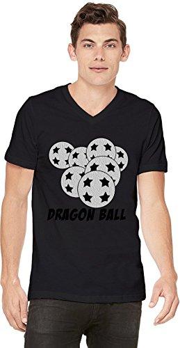 Seven Dragon Balls T-shirt col V pour hommes Small
