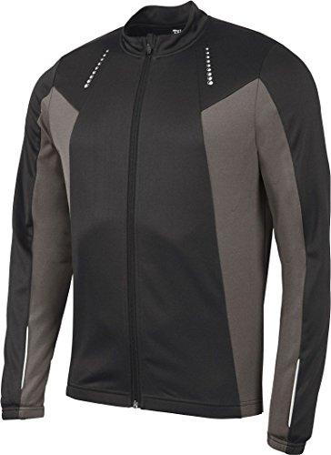 Golden Lutz® Herren Fahrradshirt, Langarm (Gr. M 48/50, schwarz/grau) | CRIVIT®