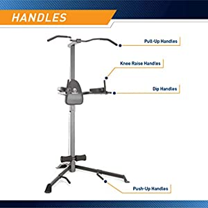 Marcy Power Tower Multi Workout Home Gym Pull Up Chin Up Dip Station VKR TC-3508