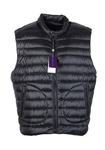 Ralph Lauren Purple Label CL Black Gilet Vest Size XXL / 58/48 U.S.