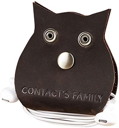 Garddyesh Earphone Cable Winder Headphone Holder Creative Owl Cotton Design product image