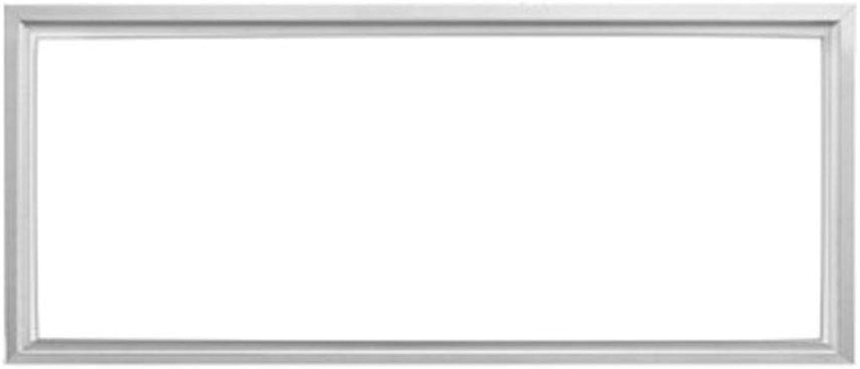 Panel Light LED Super Bright Deckenleuchte mit warmweiem Aluminium (Farbe   1200  300 (48W))