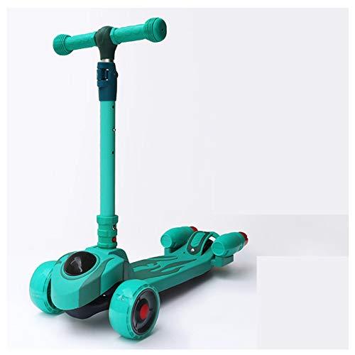 ZZTHJSM Scooters para Niños Edad 3-6, Niños Scooter 3