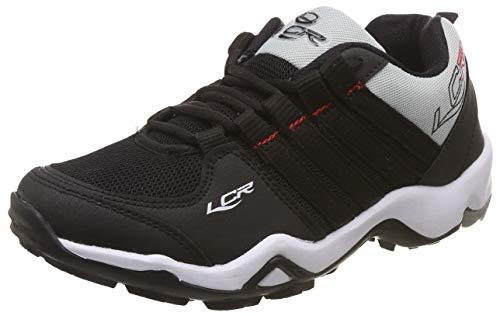 Lancer Men's Black Red Running Shoes-8 UK/India (42 EU)(CUBA-14-BLK-RED-8)