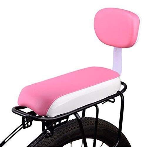 Buy Discount Bicycle Rear Seat with Backrest Child Carrier Bike Seat Cushion