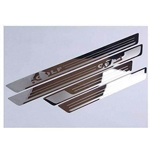 Edelstahl Einstiegsleiste Für Golf 7 MK7 golf VII pedal Zubehör Auto Styling
