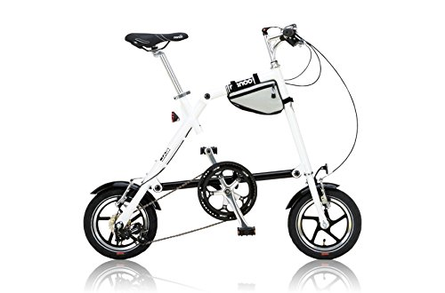 NANOO(ナノー)  折りたたみ自転車 12インチ アルミ製 シマノ7段変速 専用輸行バッグ/トライフレームバッグ...