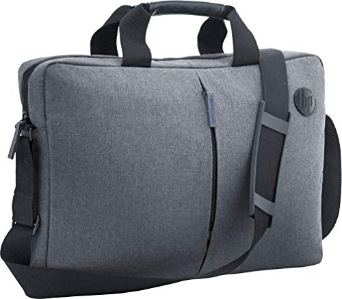HP Essential Top Load - Funda bandolera para portátil de hasta 15.6', color gris