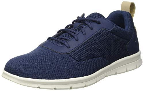 Timberland Heren Graydon Knit Oxford schoenen, Blauw marineblauw mesh, 42 EU