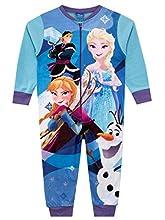 Disney Pijama Entera para niñas Frozen Multicolor 9-10 Años