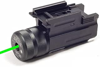 Ade Advanced Optics® Compact Pistol Green Laser with Quick Release Weaver Mount
