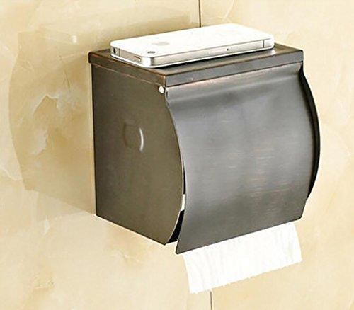 FAFZ Porte-serviette de style européen, accessoires de salle de bains en bronze, serviette antique (couleur : 5#)