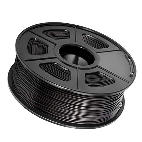 P Prettyia Sanlu 1.75 Mm 3D ABS Filament For 3D Printer Tolerance + / 0.02 Mm 1 Kg - Black, 200x200x64mm