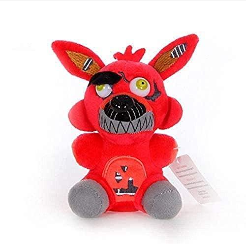 Suave cinco noches en Freddy 4 Fnaf colgante 18 cm lindo juguete de felpa decoración de la habitación regalo de cumpleaños muñeco de peluche regalo creativo
