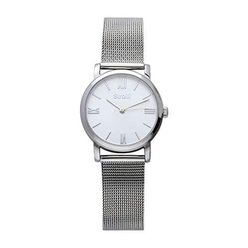 Stroili - Solo tempo cassa e bracciale in acciaio - quadrante silver per Donna