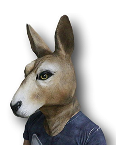 Rubber Johnnies Kangourou Masque Tête Intégrale Qualité Ciné