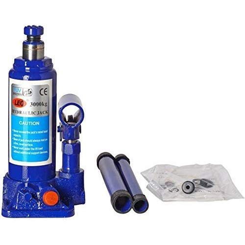 Casper Super Heavy Hydraulic Bottle Jack for All Cars (Universal) 3 ton (3000 kg) Easy to use & Operate