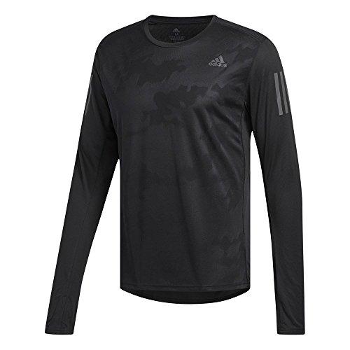 [アディダス] ランニングウェア RESPONSE長袖Tシャツ EEO12 [メンズ] ブラック (CE7289) 日本 J/S (日本サ...