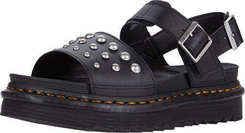 Dr. Martens Voss Stud Black Hydro Leather