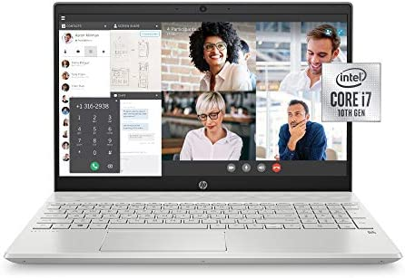 HP 15 cs3019nr Pavilion 15 6 Inch Laptop Intel Core i7 Mineral Silver product image
