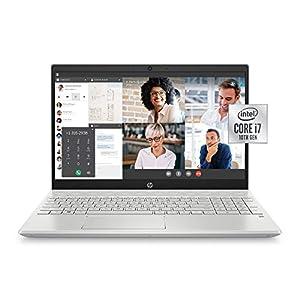 HP 15-cs3019nr Pavilion 15.6-Inch Laptop, Intel Core i7 (Mineral Silver)