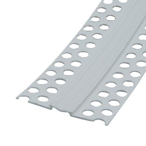 Bewegungsfugenprofil 25m 50mm PVC Kantenprofil Eckwinkel Trockenbauprofil