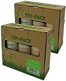BIOBIZZ Try-Pack Outdoor Mega Pack - Pack de 3 Botes de 500 ml (6 Botes de 250 ml)