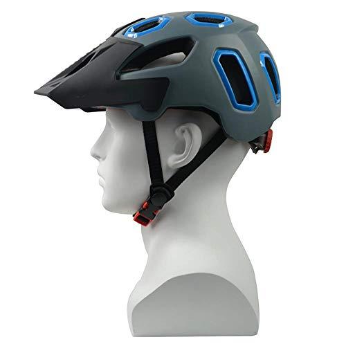 Helmet HCHW Cycle Helmets Safe Adjustable Bicycle Helmet EPS Protection Mountain Bike Helmets Road Ultralight L(58-62cm) 005