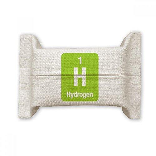 DIYthinker H Waterstof Chemische Element Wetenschap Katoen Linnen Tissue Papier Cover Houder Opslag Container Gift