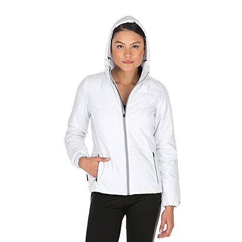 Damen winterjacke Reebok DSO PrimaLoft (L, Weiß)