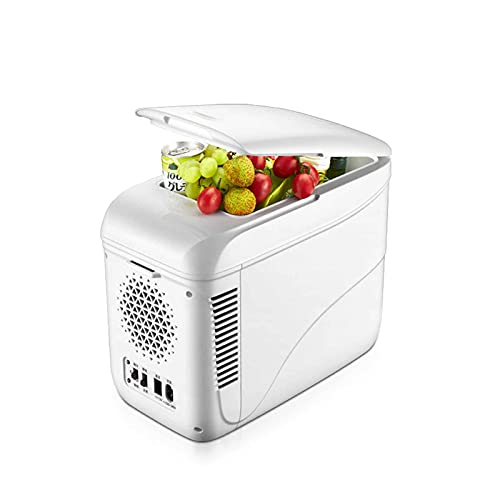 yankai Nevera Portátil, Refrigerador para Automóvil De 9L, Doble Propósito Frío Y Caliente, Enfriamiento Rápido, Antivibración Y Antivibración, Silencioso, Adecuado para Automóvil, Hogar, Exterior