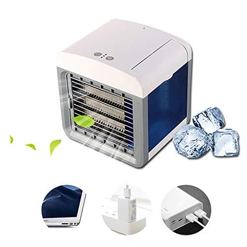 Rainbow bridge Humidificador purificador Aire Acondicionado Mini habitación en casa portátil Conveniente Aire Acondicionado de refrigeración USB Ventilador de Aire Acondicionado de Escritorio ✅