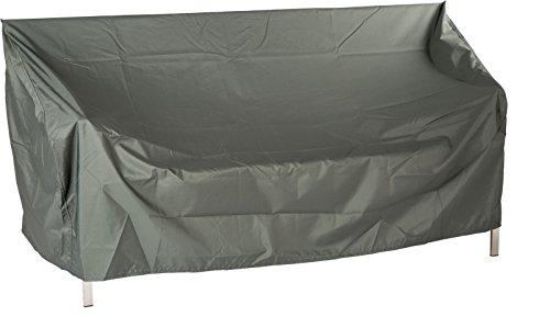 Stern 454804 Housse de Protection pour Meubles de Jardin 2 bancs Gris uni 150 x 55 x 80 cm 1,3 ML