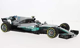 Mercedes AMG W08 EQ Power+, No.77, AMG Petronas Motor Sport, Petronas, Formula 1, 2017, Model Car,, I-Minichamps 1:18