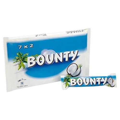 Bounty Chocolat Au Lait 7 X 57G - Paquet de 2