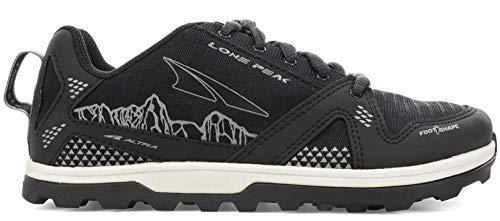 ALTRA Big Boy's AL0A4PE3 Youth Lone Peak Trail Running Shoe, Black - 1 Big Kid