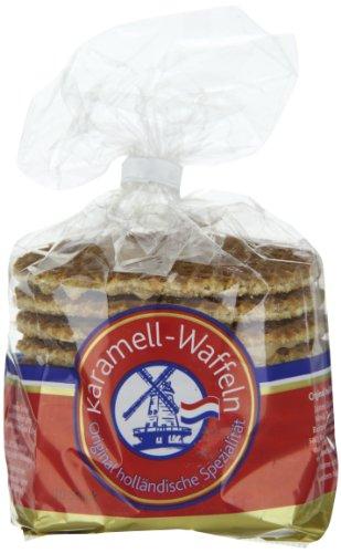 Aldente Karamellwaffeln Holländische Spezialität, 4er Pack (4 x 400 g)