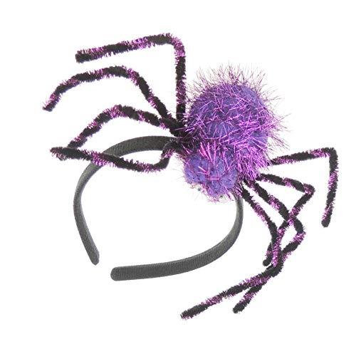 Sparkly zwart meisjes dames aankleden Fancy jurk halloween Deeley Bopper hoofdband spin