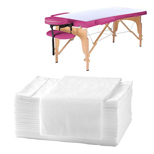 25PCS Disposable Bed Sheets,Waterproof Massage Table Sheets For Spa Tatto Lash bed,Non-woven Fabric 31' x 70'