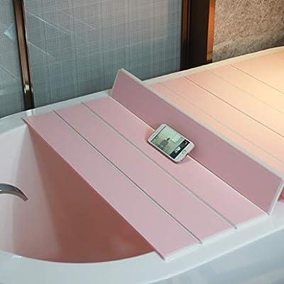 ZWJLIZI Badewannenbretter Faltender Badewannendeckel