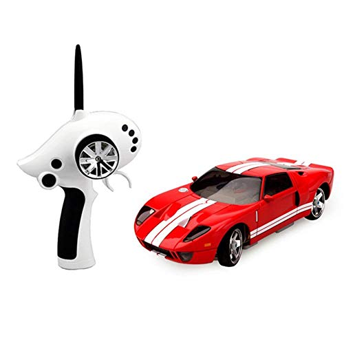 Gyubay Ferngesteuerte Auto 28.01 2.4G 4WD Mini Drift RC-Car 130 Brushed Motor RTR Toy Racing Car Autospielzeug für Kindergeschenk (Farbe : Rot, Size : One Size)