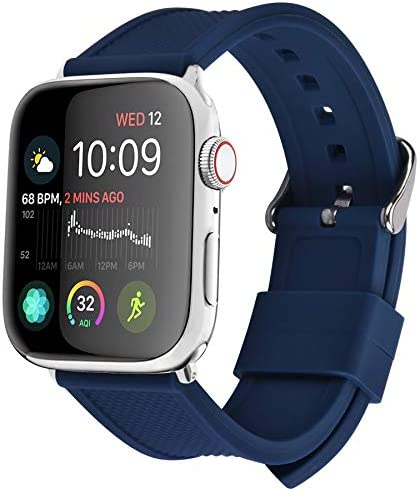 Apple Watch Band Silicone Compatible Apple Watch 38mm 40mm 42mm 44mm Fullmosa Rainbow Soft Rubber product image