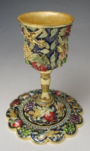 Jeweled Kiddush Cups 7311 Import Item # Translated