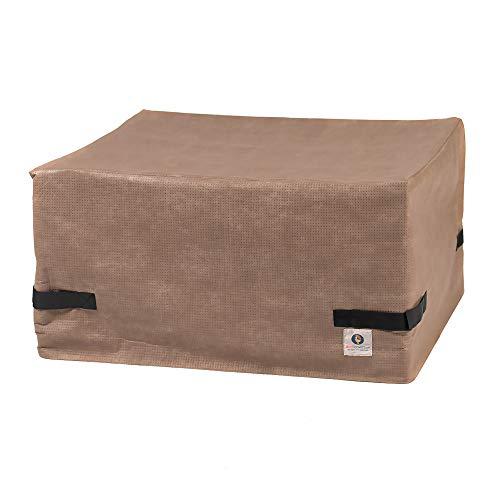 Duck Covers couvertures de Canard Elite 101,6 cm carré Foyer Coque 50L x 50W x 24H Cappuccino