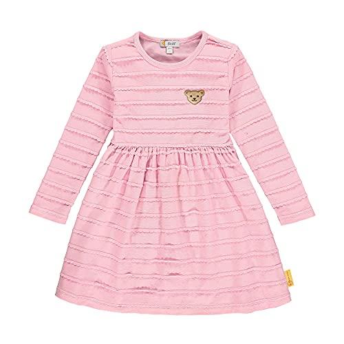 Steiff Mädchen Kleid Kinderkleid, PINK Nectar, 104